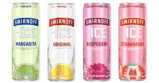 smirnoff ice alcohol content percene