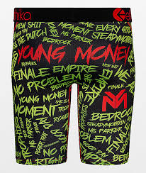 ethika young money boxer briefs zumiez