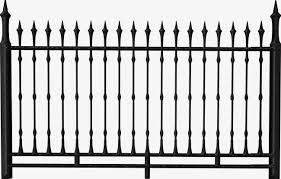 Gothic Style Building Fence Png Clipart Building Clipart Fence Fence Clipart Gothic Gothic Clipart Free Png
