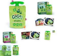 gogo squeez applesauce yogurt