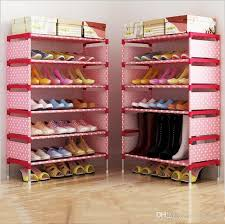 2020 Shoe Cabinet Fashion Storage Closet Home Shoe Rack Kids Bedroom Shoes Organizer Sitting Room Nonwoven Shoes Shelf Holder Creative B2279 From Wholesalebaby 13 65 Dhgate Com