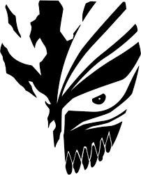 Vinyl Decal Sticker Ichigo Mask Decal Inspired By Bleach For Windows Cars Laptops Macbook Etc Laptop Decal Stickers Bleach Anime Art Bleach Art