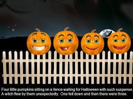 Five Halloween Pumpkins Mrs Christina Sabedra Five Little Pumpkins On Halloween Night Proclaimed They Weren T About To Be Given A Fright These Five Ppt Download
