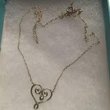 palomas venezia goldoni heart pendant