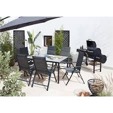 6 seater rectangular garden furniture