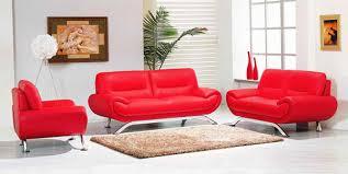 20 ravishing red leather living room