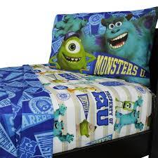disney monsters inc twin bedding set