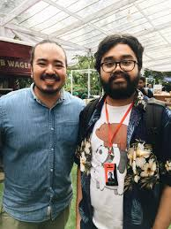 Met Adam Liaw when he was in Jakarta : MasterchefAU