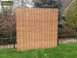 Mypalmshop Com Avantgarde Willow Fence Panel Garden Screen