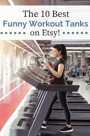 funny workout tanks for women