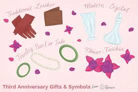 symbols for your third wedding anniversary