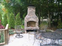 outdoor fireplace ideas backyard