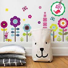 flower garden wall decals stickers