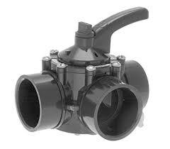 inch 3 way diverter valve cpvc