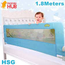 Phoenix Hub Hsg Baby Bed Guard Infant Bedside Safe Protective Barrier Bed Fence Shopee Philippines