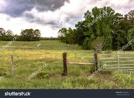 Barbed Wire Fence H Brace Metal Stock Photo Edit Now 694028917