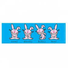 Happy Bunny Stickers Decals Bumper Stickers
