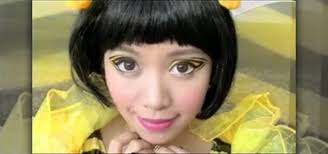 ble bee makeup look for