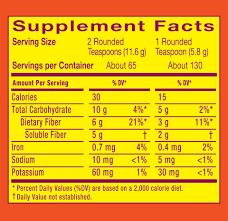 metamucil fiber supplement orange