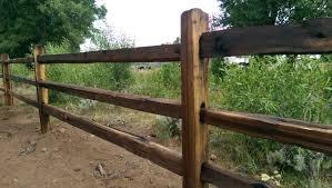 3 Rail Cedar Split Rail Fencing Ksl Com