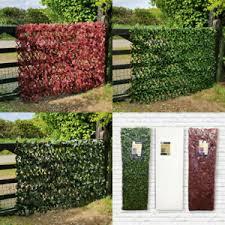 Artificial Hedge Expanding Willow Trellis Garden Fence Balcony Privacy Screening Ebay