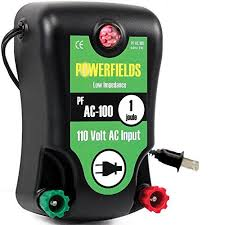Powerfields Pf Ac 200 120 Acre Electric Fence Energizer 110 Volt 2 0 Joule Green Lawn Garden Store Electric Fence Energizer Electric Fence Mason Bee House