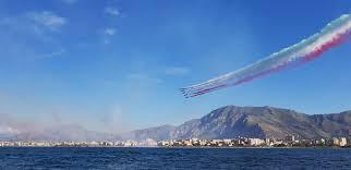 Frecce Tricolori a Palermo Lo show in FOTO e VIDEO - Live Sicilia