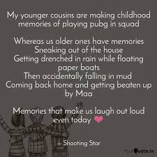 my younger cousins are ma quotes writings by shooting star