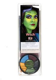 graftobian deluxe witch face makeup kit