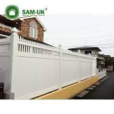 Vinyl Fence Panels White Plastic Yard Fence Pvc Plastic Fence