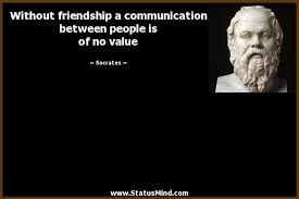 out friendship a communication between people com