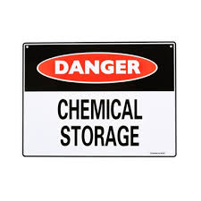 Sandleford 300 X 225mm Chemical Storage Plastic Sign Bunnings Warehouse