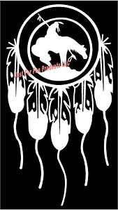 Vinyl Decal Dream Catcher Indian Last Ride Native American Etsy