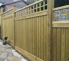0 30m High X 1 83m Wide Square Top Trellis Panel Topper Jakcured Garden Fence Panels Front Garden Fence Toppers