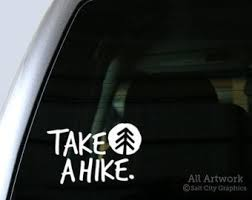 Hiking Decal Etsy
