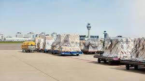 air freight volumes by 2 in november