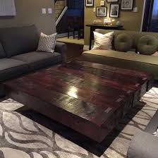 rustix extra large coffee table