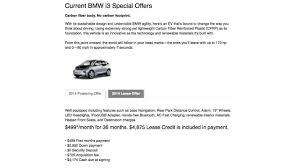 i3 lease offer insideevs photos