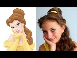 belle s hairstyle tutorial a