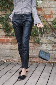 louise roe how to wear leather pants