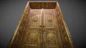 Al Kaaba Door 1944 Ad باب الكعبه المشرفة 3d Model By Hijaziah