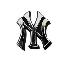 New York Yankees Logo 3d Chrome Auto Decal Sticker New Truck Or Car Jeter New York Yankees Logo Car Emblem Yankees Logo