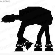Star Wars At At Walker Decal Vinyl Decal Sticker Wall Decal Decals Ground