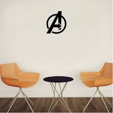Sph 5 80s Superhero The Avengers Logo Vinyl Wall Sticker Room Home Decor Shopee Malaysia