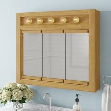 surface mount framed medicine cabinet