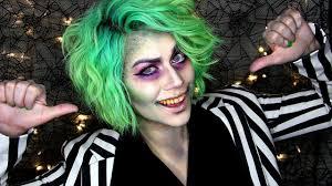 beetlejuice makeup transformation