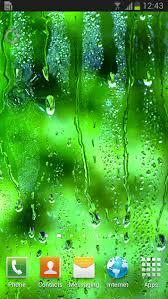 rain applying live wallpaper android