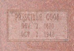Priscilla Bowman Cook (1870-1948) - Find A Grave Memorial