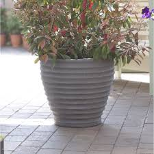 outdoor large plastic patio planters