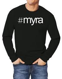 Hashtag Myra Long-sleeve T-Shirt